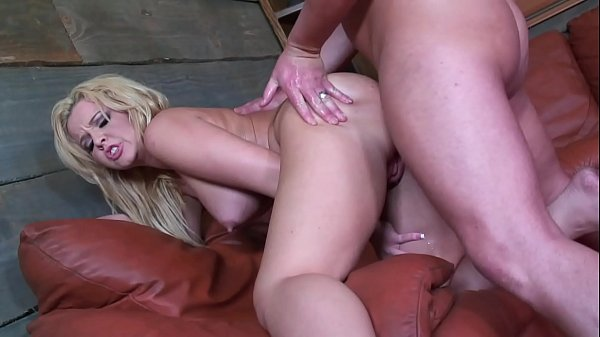 Big Cumshot Facial after Hard and Rough Anal Sex on Pretty Face of the Stripper