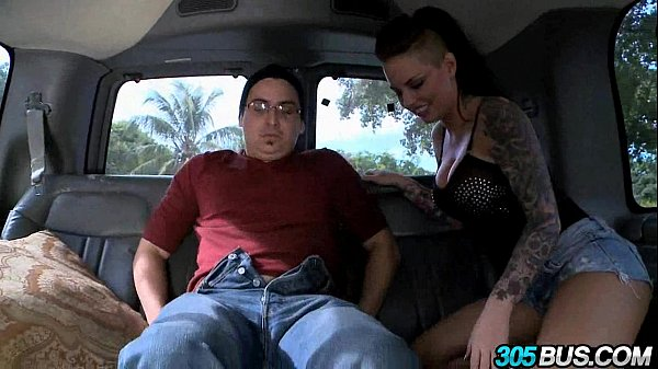 Christy Mack fucks a couple of dudes on the 305bus 2.5