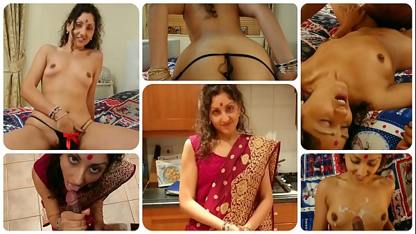 Cheating young indian sister in law teaches brother in law how to fuck while her husband is at work POV Indian