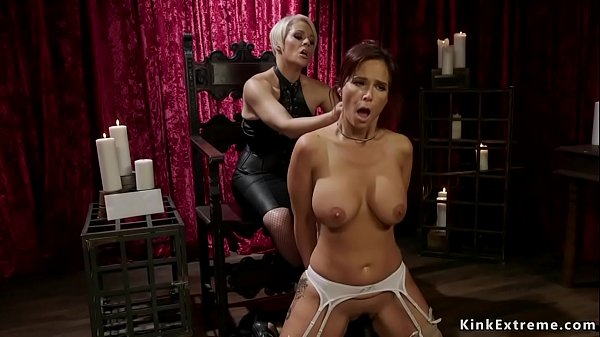 Milf in suspension big ass spanked Thumb