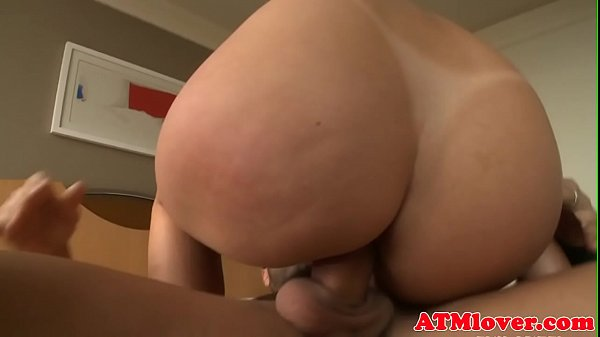 Bigbooty babe assfucked in cowgirl pose