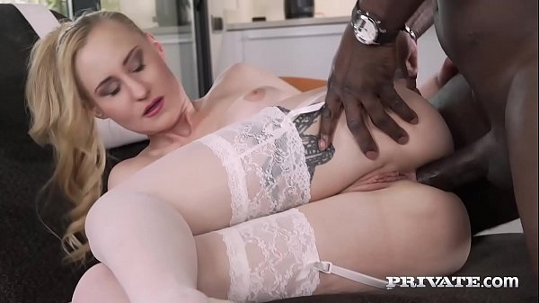 Private.com - Blonde Babe Helena Valentine Gets BBC Up Ass!