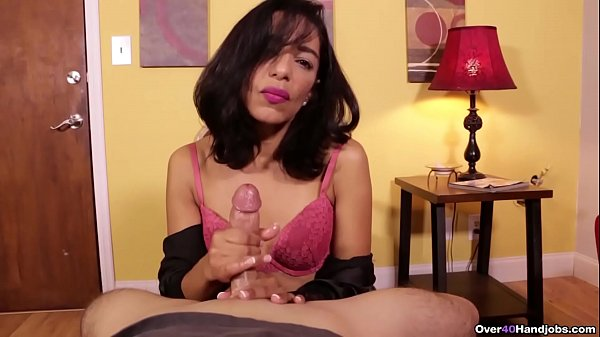 """Don't Blow Your Load Yet!"" Latina MILF Gives ..."