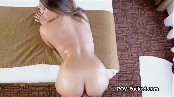 Hot oiled half Asian amateur fucked on audition