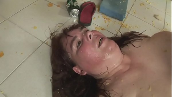 My m. and a big slut fucked me in the dirt