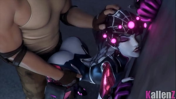 Widowmaker Lovemaking From Behind