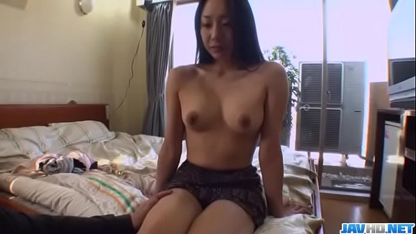 Brunette, Miho Wakabayashi, goes wild on a big dong - More at Javhd.net
