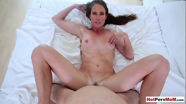 Classy mature stepmom wants to taste her stepsons cock