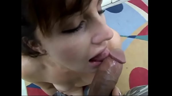 Horny hussy Nikki enjoys giving stud a good BJ after getting pussy masaged