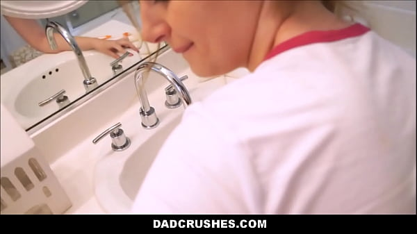 Step Daughter Brushing Teeth Fuck