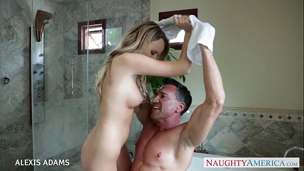Sexy Coed Alexis Adams Climbs Aboard To Screw Her Man Property Sex 1