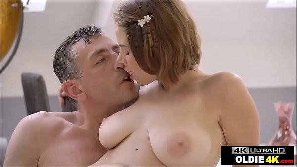 Old Young: Well Hung Old Guy Fucks Beautiful Big Tits Teen With Daddy Fetish