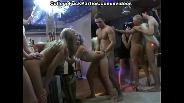 Gangbang party with getting lavish cumshot