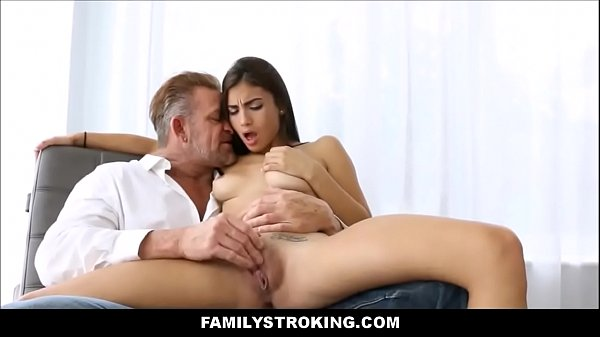Stepdaughter Gets Finger Fucked And Her Pussy Licked By Stedaddy - Family Strokes Thumb