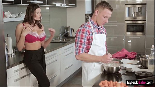 Stepmom Sensual Jane and Nora both fucked by No...