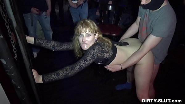 Naughty wife Nicole gangbanged by everybody at a club Thumb