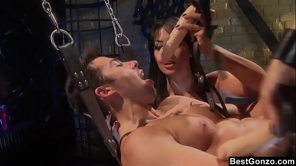 BestGonzo – FemDoms Keeani Lei & Gianna Lynn Peg Their Sex Slave