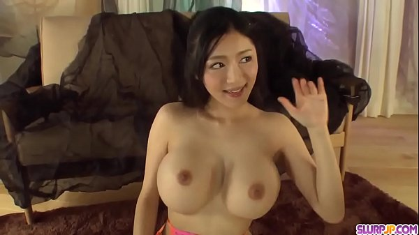 Busty Miho Ichiki plays with the dick in a very...