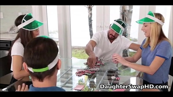 Poker Night Teen Daughter Swapping - DaughterSw...