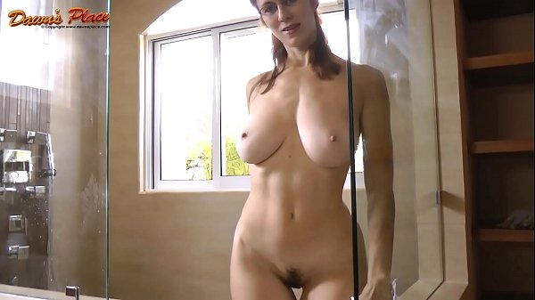 Dawn Allison Dawnsplace Milf with Natural 32ddd tits tease - Glass Cleaner Thumb