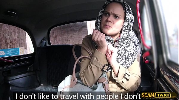 Horny passenger have sex with the driver and ga...