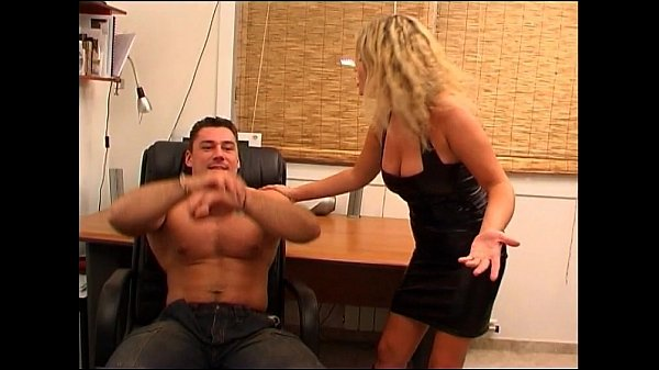 Busty french slut Electra playing with hot hungarian stud Atila