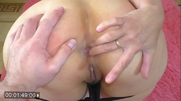 Anal sex and blowjob with mature mom with big ass