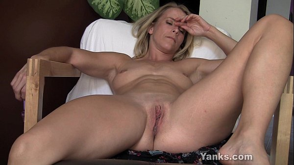 Blonde Skyla Toying Her Pussy And Ass Thumb