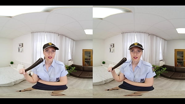 VRConk Busty Police Babe Sucking Cock POV VR Porn Thumb