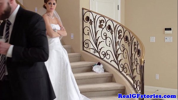 Stunning bride facialized by her Photographer Thumb