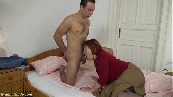 fat 79 years old mom fucked by stepson