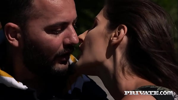 Private.com - Romantic All Natural Brunette Coco Kiss Gets Ass Fucked!