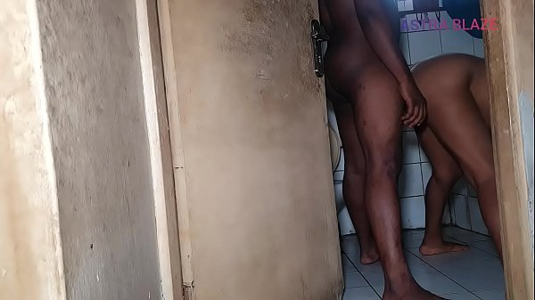 Trying to fuck in the bathroom but I had to ride that cock