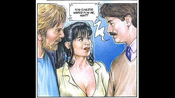 Busty Brunette Loves Cock Comics