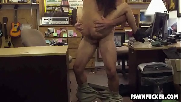 Sexy latina college girl gets pussy screwed in the office