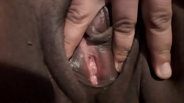 Rubbing my big juicy large clit Cumming Pt 2