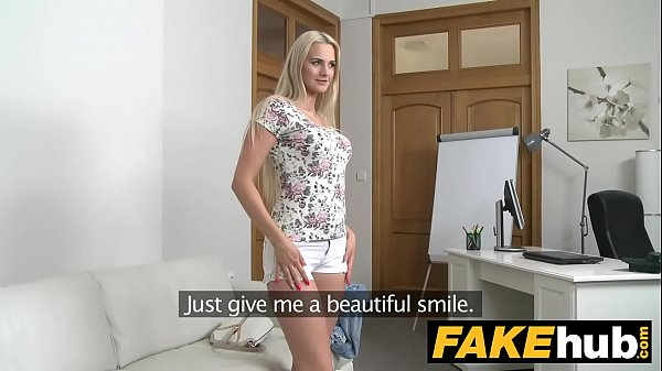 beautiful blonde fucked couch