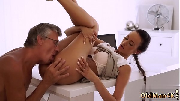 Daddy makes me first time swallowed so deep, so...