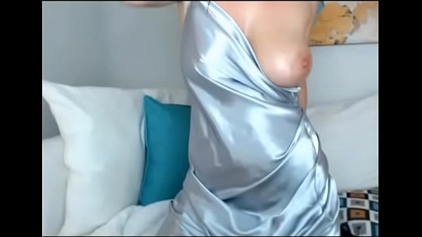 Big tit MILF in Satin cums multiple times