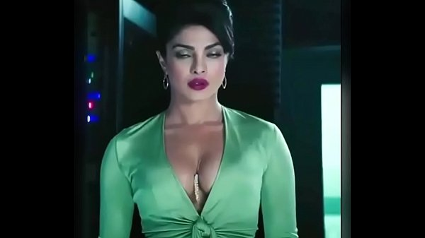 sexy p. Chopra Hot Cleavage Scene in English Movie