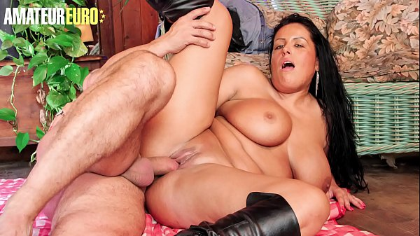 AMATEUR EURO - Hot Voluptuous MILF Tatyana Takes A Big Thick Cock Right Up In Her Wet Pussy Thumb
