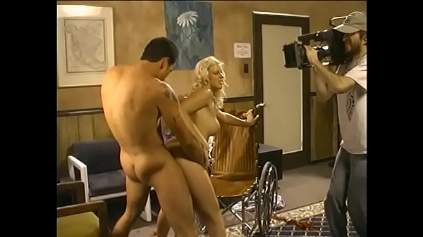 Sexy young nurse Hannah Harper is the only pers...