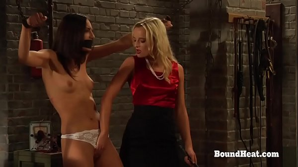 The Education of Adela: Lesbian Slave In Prison Plays With Mistress's Panties