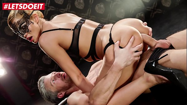 LETSDOEIT - Serbian Blondie Cherry Kiss Dominates Lutro And Takes Hot Erotic Anal Thumb