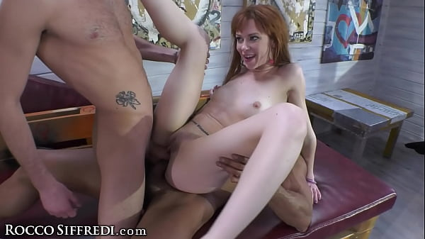 Sexy Redhead Takes Good Care Of Her Husband And His Friends