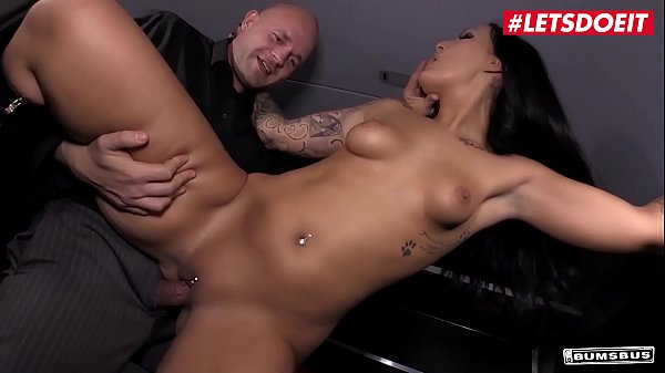 BUMS BUS - #Mira Grey - Sexy Naughty German MILF Blows And Fucks On The Bus With A Random Guy From The Streets