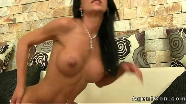 Babe gets anal fucked and creampie on casting Thumb