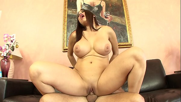 Busty MILF fucks hunky dude in all positions and gets rewarded with a cumload