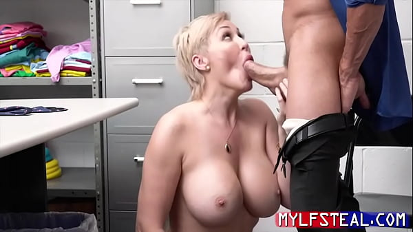 Stealing MILF Bends Over For Cop As Punishment- Ryan Keely