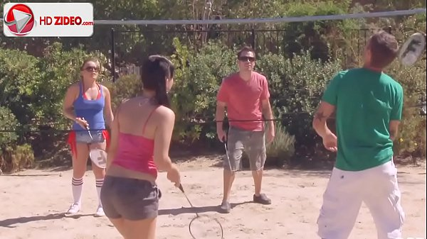 How to make badminton Ashli Orion Kaci Starr HD Porn